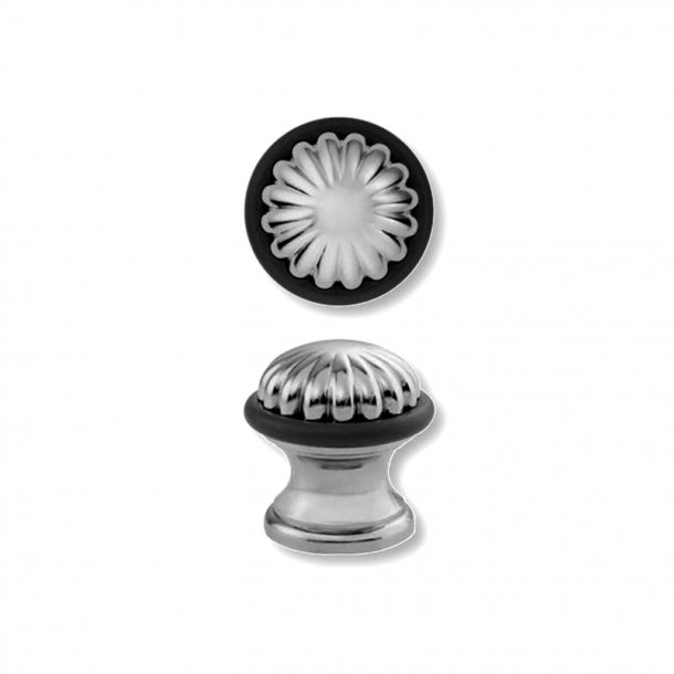 Door stop C52000 - Chrome - Colonial style - 42 mm