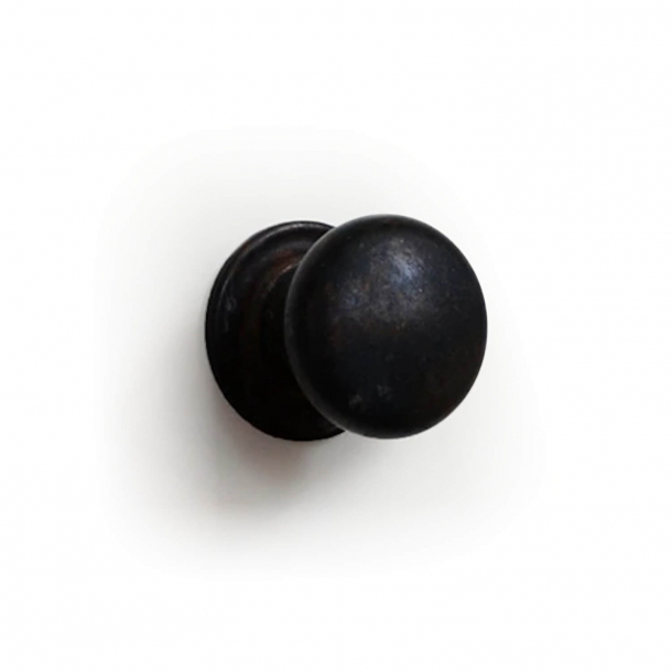 Furniture Button 158 - Browned Brass - 25 mm