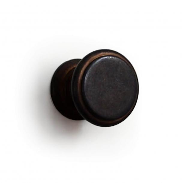 Möbelknopf 160 - Bronziertes Messing - 32 mm