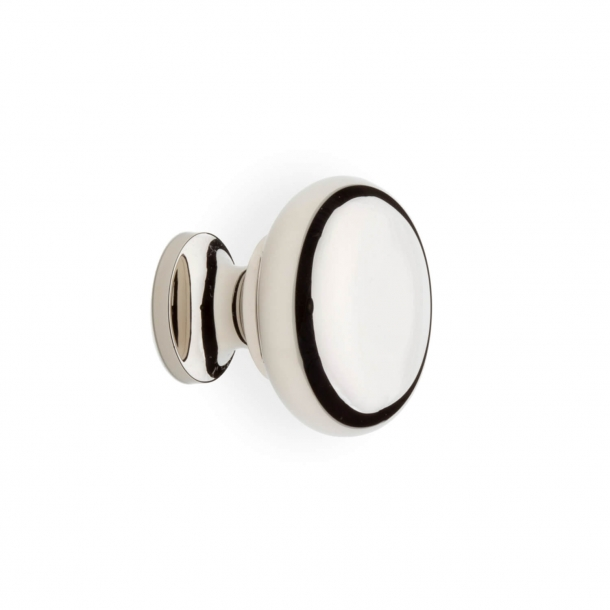 Cabinet Knob 100 - Polished nickel - 25 mm