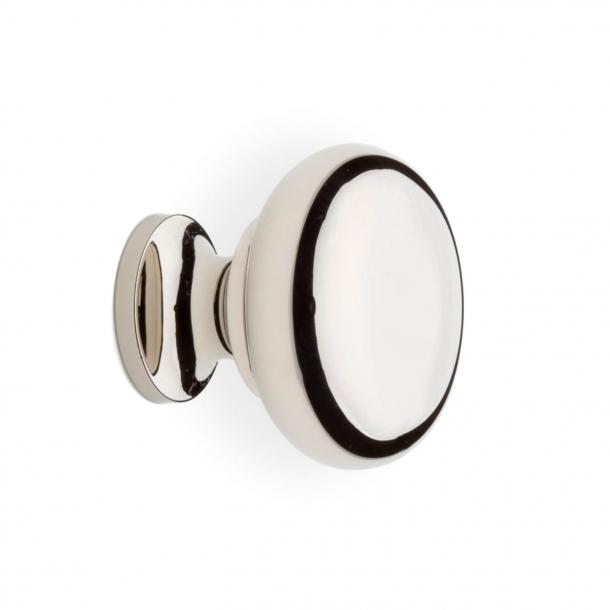 Möbelknopf 100 - Nickel poliert - 31 mm