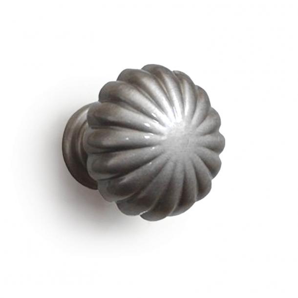 Möbelknapp 168 - Borstad nickel - Enrico Cassina - 30 mm
