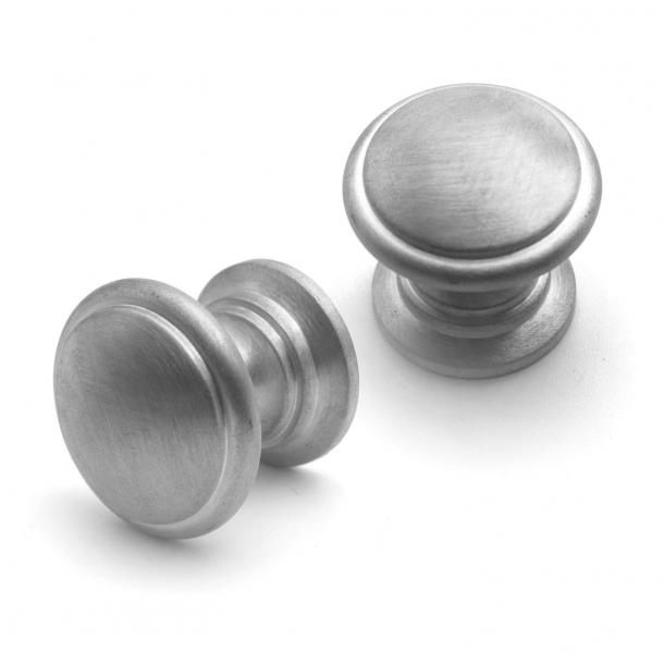Furniture Button - Model 161 - Satin nickel 32 mm