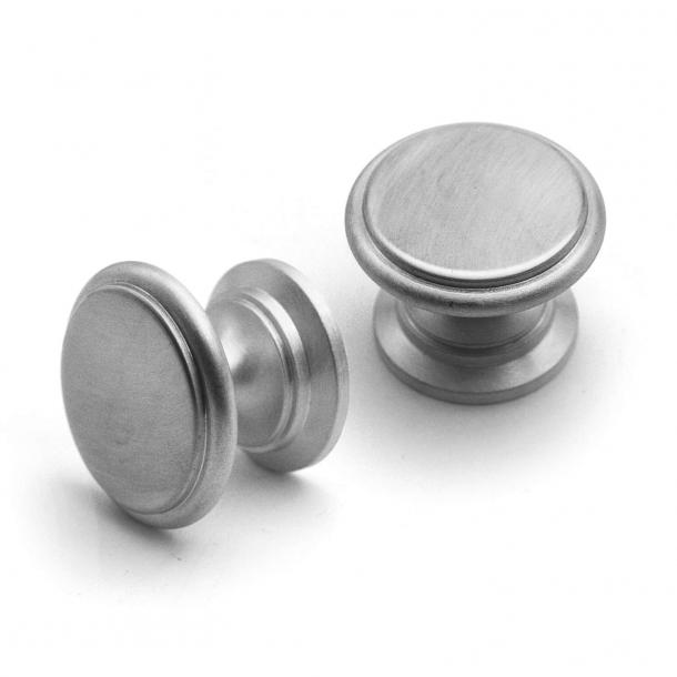 Möbelknapp 160 - Borstad nickel - 32 mm