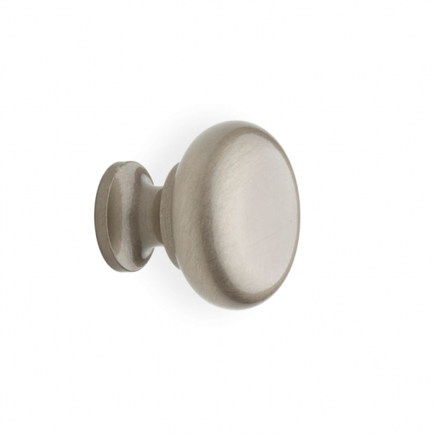 Furniture knob 100 - Satin nickel - 25 mm