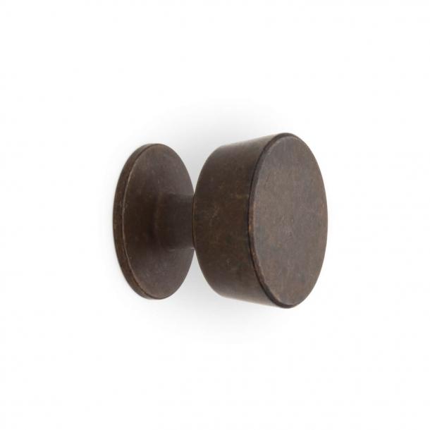 Möbelknapp 151 - Brunad Mässing - Omporro 25 mm