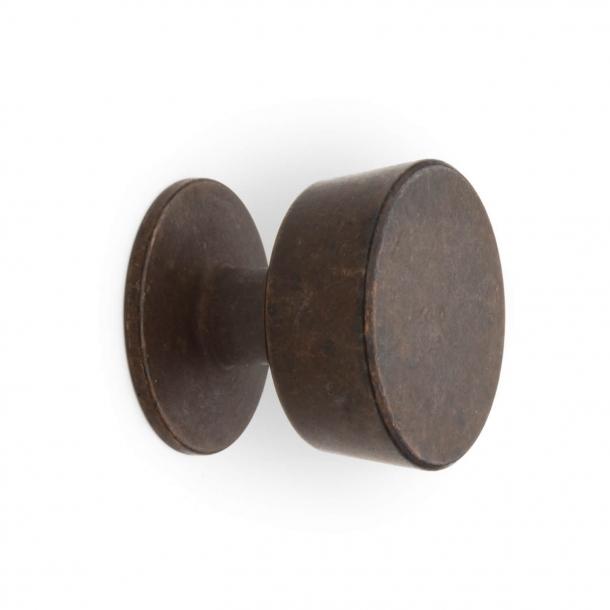 Möbelknopf 151 - Gebräuntes Messing - Omporro 30 mm