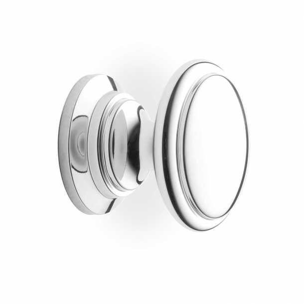 Cabinet Button - Model 161 - Chrome - 32 mm