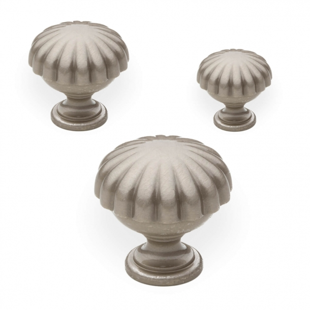 Cabinet knob - Satin nickel - Enrico Cassina - Model 168