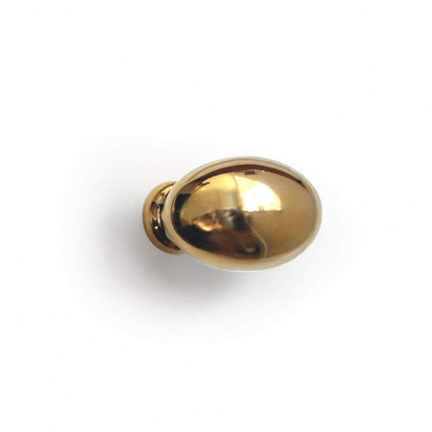 Furniture knob - Brass - Enrico Cassina - Model 105 - 25 mm