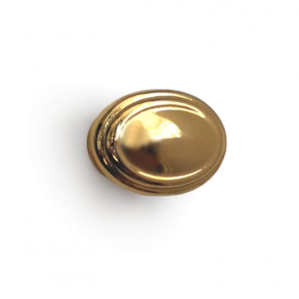 Cabinet knop - Model 163 - Brass - 30 mm