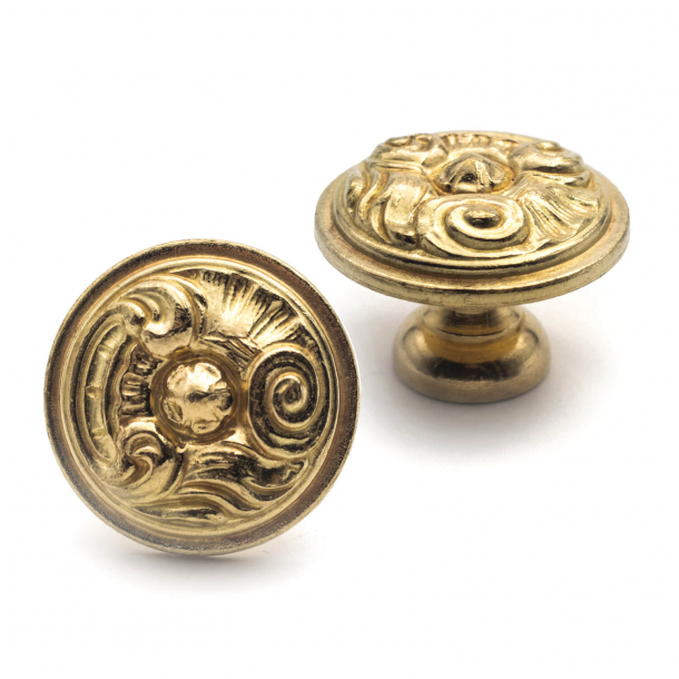 Furniture Button 523 - Brass Without lacquer - 30mm