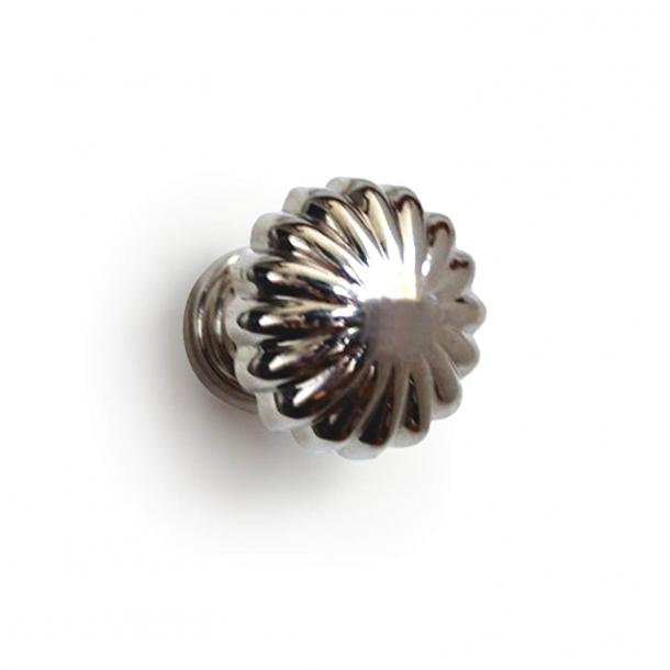 Cabinet knob 168 - Polished nickel - Enrico Cassina - 26 mm