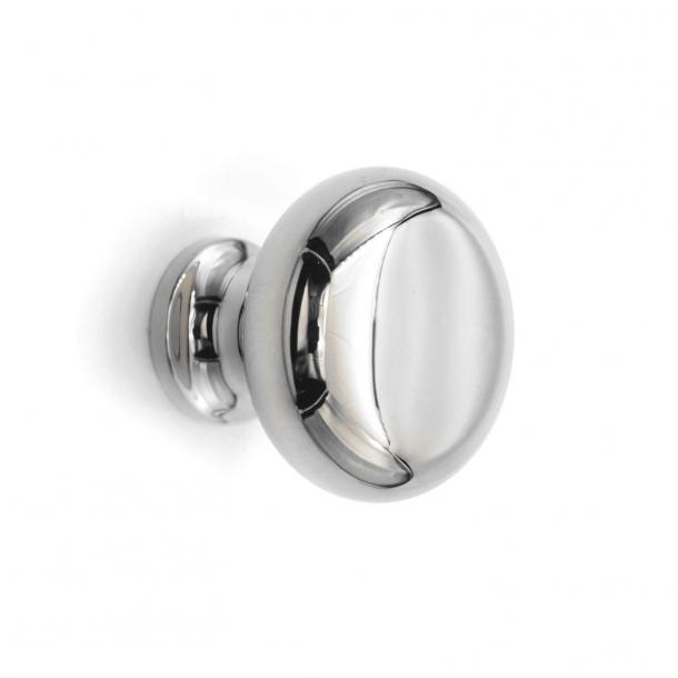 Cabinet Knob 100 - Polished nickel - 25 mm