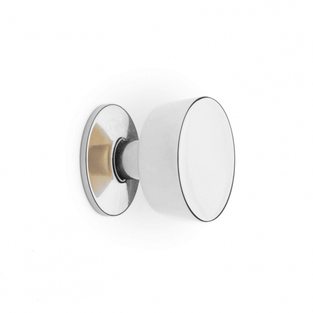 Furniture Button 151 - Nickel - 25 mm