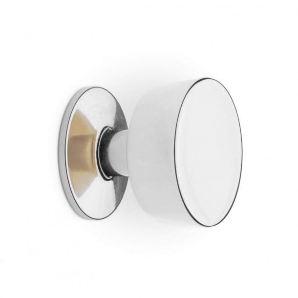 Furniture Button 151 - Nickel - 30 mm
