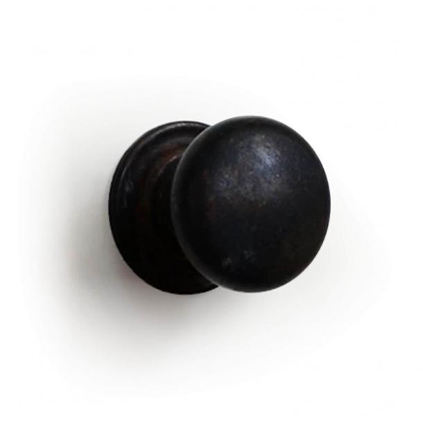 Gałka 158 - Brązowy mosiądz - 30 mm