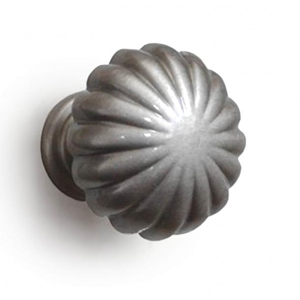 Gałki 168 - Szczotkowany nikiel - Enrico Cassina - 35 mm