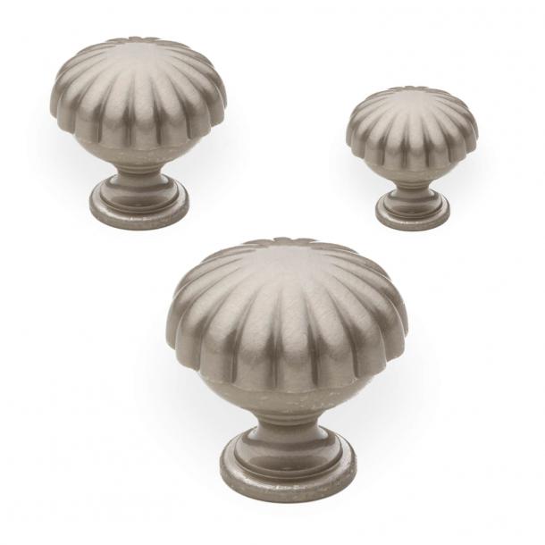 Cabinet knob - Satin nickel - Enrico Cassina - Model 168