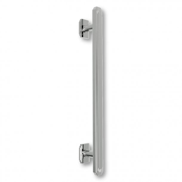 Pull handle C47800 - Nickel - Art Deco - 520 mm / 720 mm / 920 mm