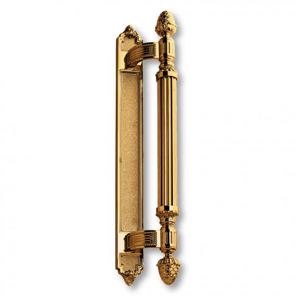 Pull handle C42700 - Brass - Second Empire - 460 mm