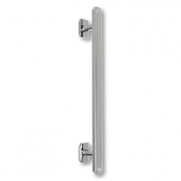 Uchwyt do drzwi C47800 - Nikiel - Art Deco - 520 mm / 720 mm / 920 mm