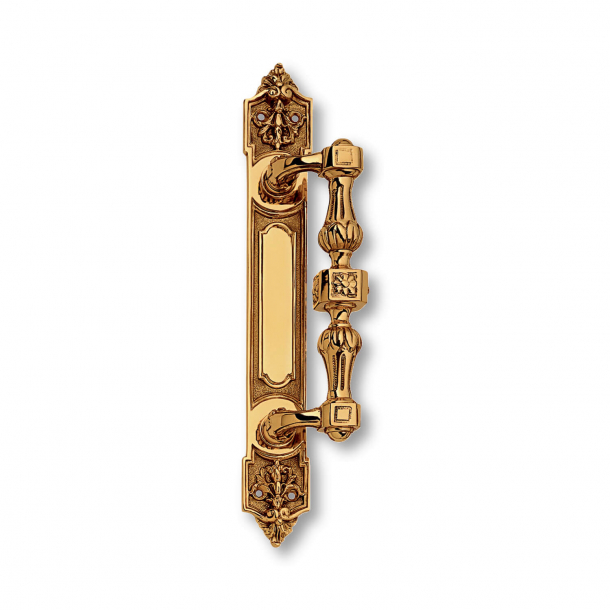Pull handle C42400 - Brass - First Empire - 288 mm