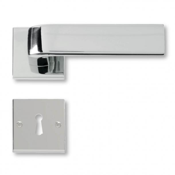 Dørgreb indendørs Blank krom - 1930´erne - C05411
