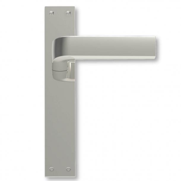 Dørgreb indendørs Langskilt Mat nikkel - 1930´erne - C05410