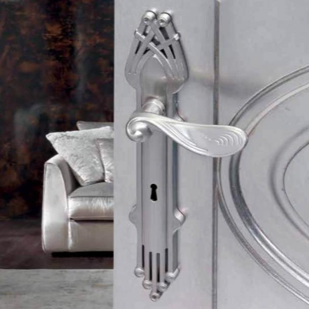 Dørgreb indendørs Krom - Art Nouveau - Langskilt - C09410