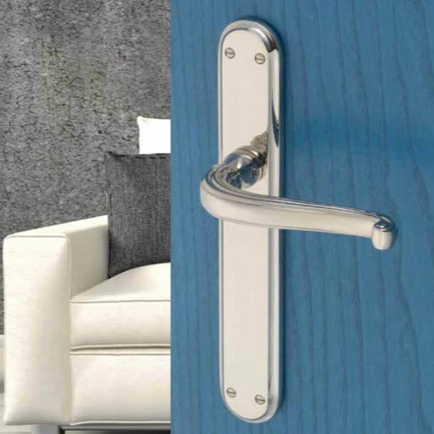 Dørgreb indendørs krom langskilt - XX Century - model C19310