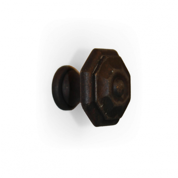 Cabinet knob - burnished brass - Omporro model 145 - 25 mm