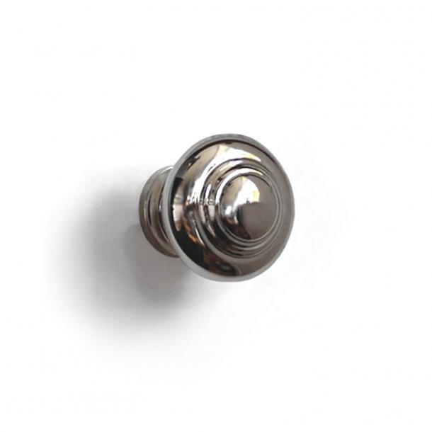 Möbelknopf 102 - Vernickelt - 25 mm