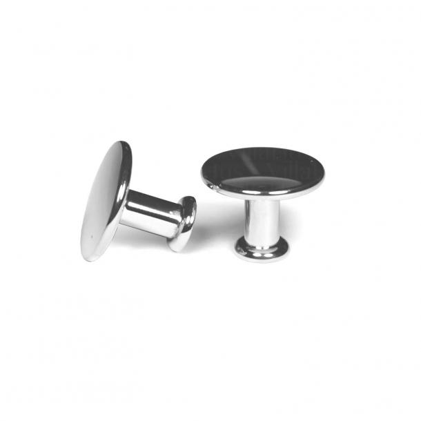 Furniture knob 101 - Chrome plated - 25 mm