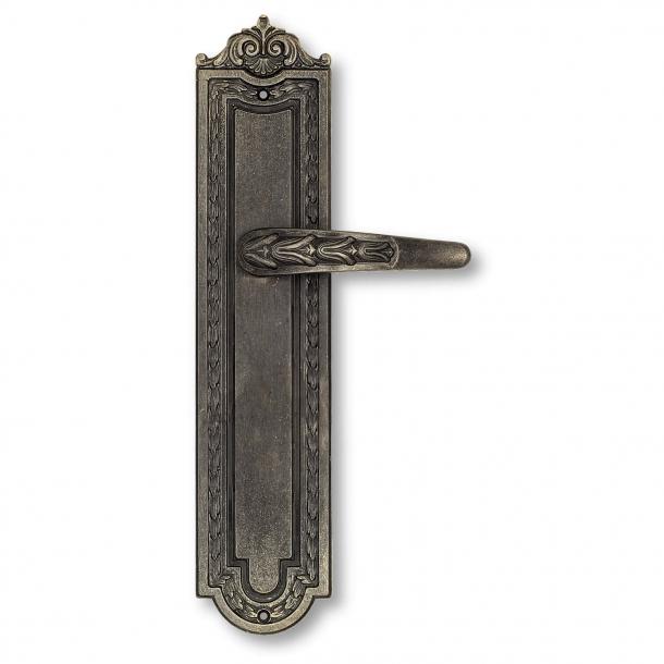 Dørgreb indendørs Langskilt - Antik bronze - First Empire - model 716