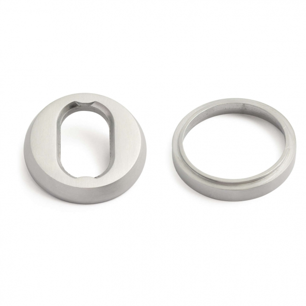 Habo cylinder ring universal - 6-18mm brushed chrome