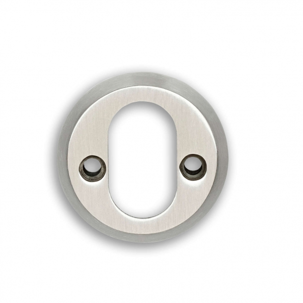 Habo cylinder ring Brushed Steel - interior 6mm