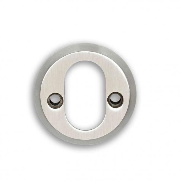 Habo Zylinderring Gebürsteter Stahl - Interieur 6mm