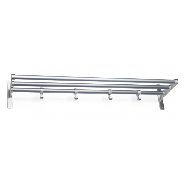 Habo Hat Shelf - Aluminum - Model ELEGANT