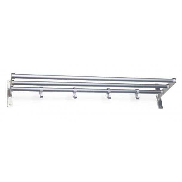 Habo Hutablage - Aluminium - Modell ELEGANT