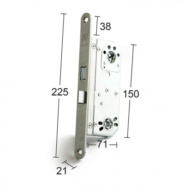 Lock case 68765 galvanized / stainless
