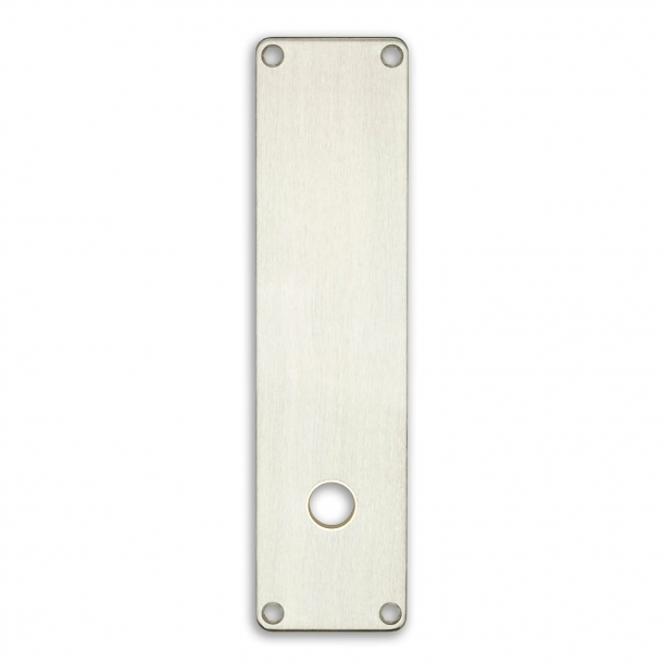Door back plate 316 to 212 x 54 mm t / Door handle hole