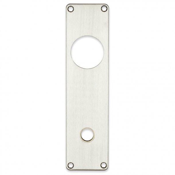 Door backplate 316 212x54mm cc105 grebshul / cylinder ring