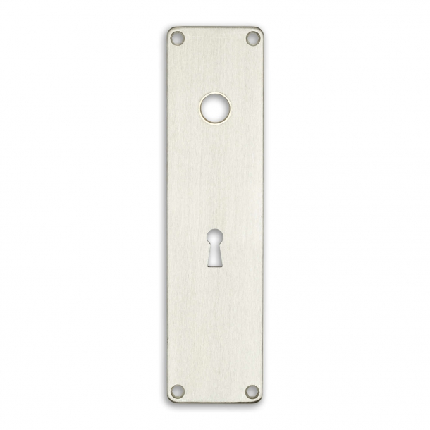 Door back plate 316-212 x 54 mm cc72 keyhole