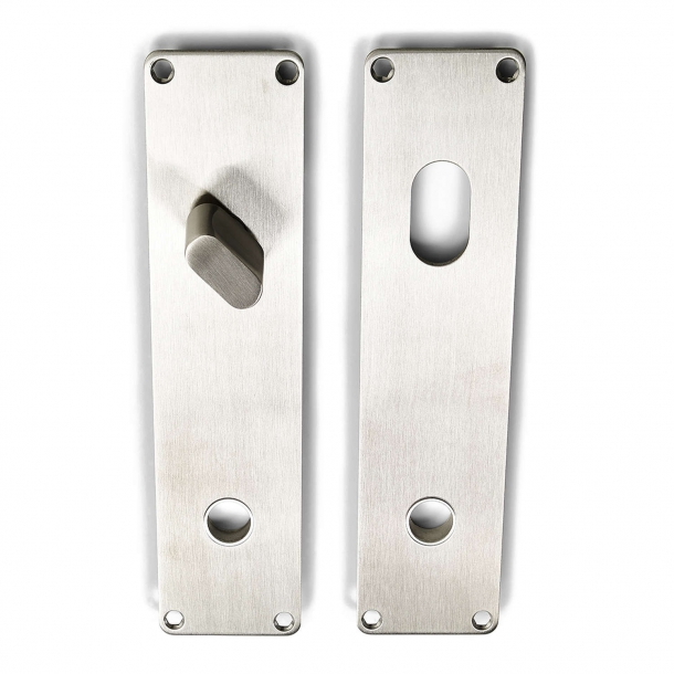 Habo - Backplates of stainless steel ASSA