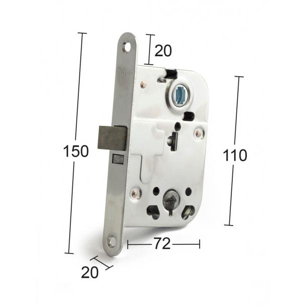 interior the lock box chrome - Model 2014