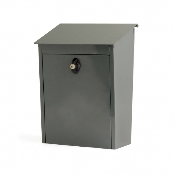 Mailbox 330x270x130 mm grey