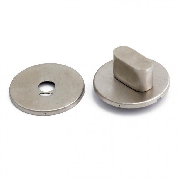 Habo Toalettbesättning - Modell A262-1 - Borstat rostfritt stål