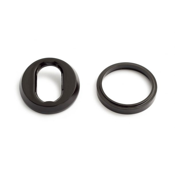 Habo Cylinderring universell 6-18mm - Högglans svart