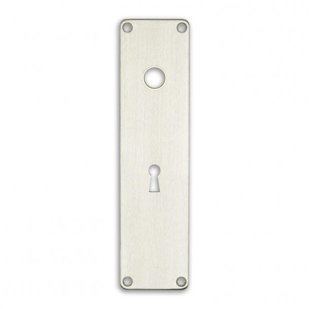 Door back plate 316-212 x 54 mm cc72 keyhole